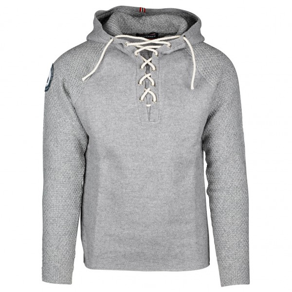 Amundsen - Boiled Hoodie Laced - Merino sweater