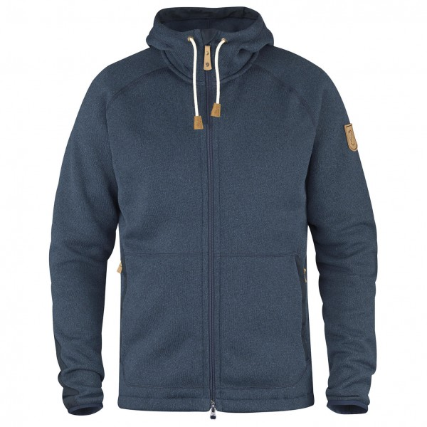 Fjällräven - Övik Fleece Hoodie - Fleece jacket