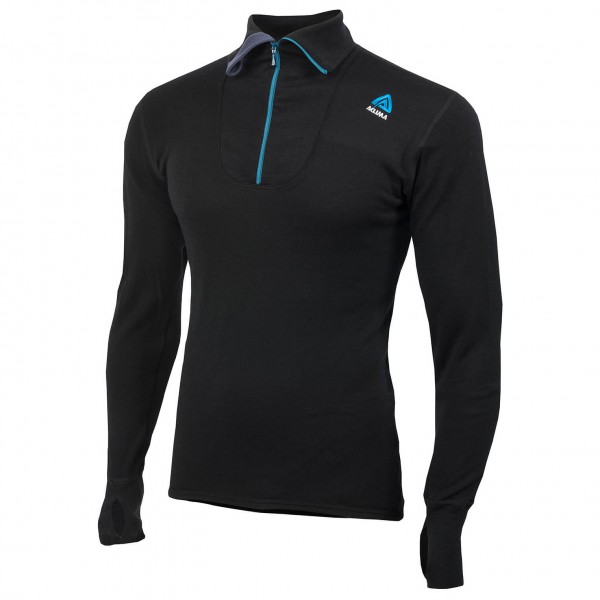 Aclima - DW Polo Zip - Merinopullover