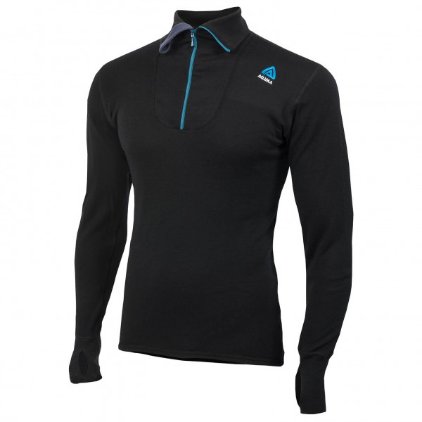 Aclima - DW Polo Zip - Pull-over en laine mérinos