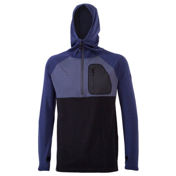 Mons Royale - 1/2 Zip Tech Hoody - Merino sweater