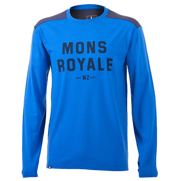 Mons Royale - Riders Crew - Pull-over en laine mérinos