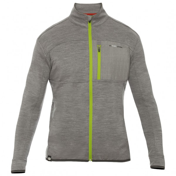 Rewoolution - Impact Merino Full Zip L/S - Wool jacket