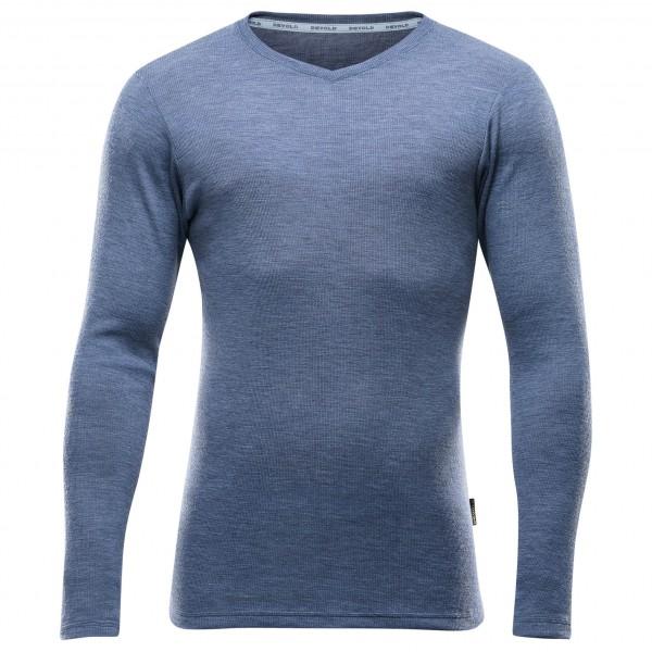 Devold - Runde Shirt V-Neck - Merinopullover