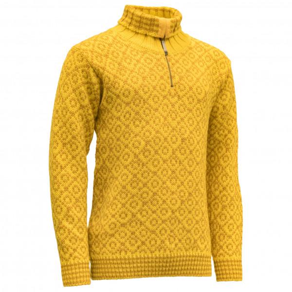 Devold - Svalbard Sweater Zip-Neck - Merinovillapulloverit