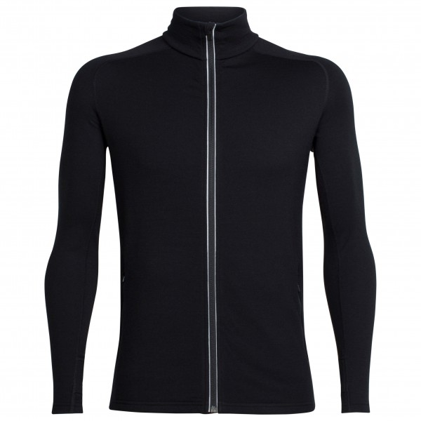 Icebreaker - Quantum L/S Zip - Wool jacket