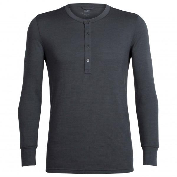 Icebreaker - Trailhead L/S Henley - Merino sweatere