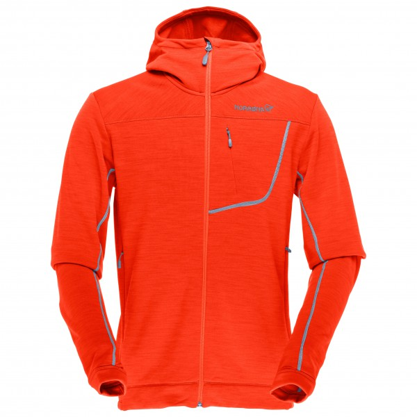 Norrøna - Bitihorn Powerstretch Zip-Hood - Fleece jacket