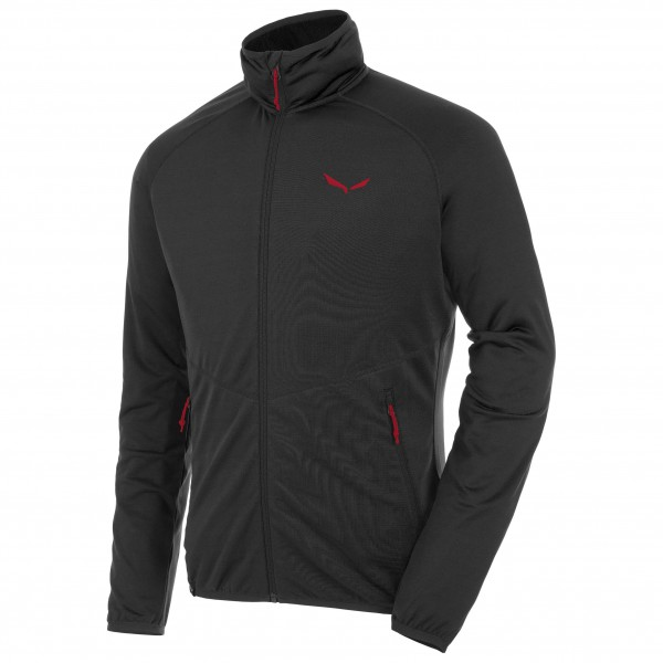 Salewa - Puez Grid Polarlite Full-Zip - Fleecetakki
