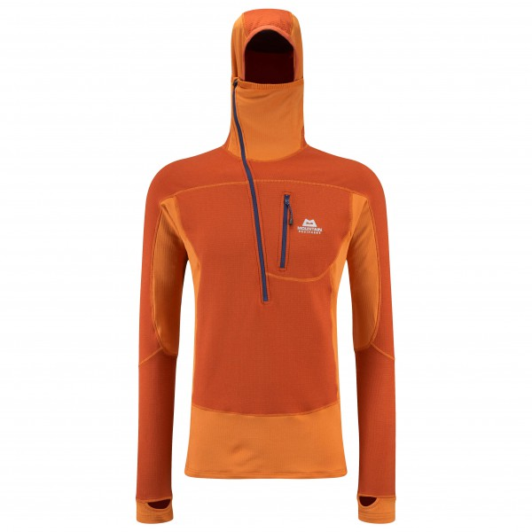 Mountain Equipment - Eclipse Hooded Zip Tee Auslaufmodell