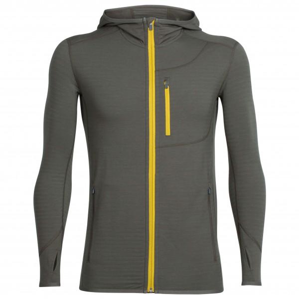 Icebreaker - Descender L/S Zip Hood - Wool jacket