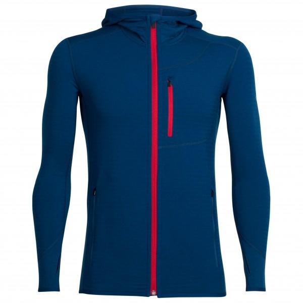 Icebreaker - Women's Descender L/S Zip Hood - Wool jacket