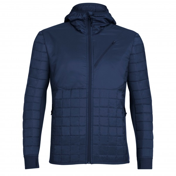 Icebreaker - Helix L/S Zip Hood - Wool jacket