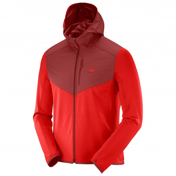 Salomon - Discovery Wind Hoodie - Fleece jacket