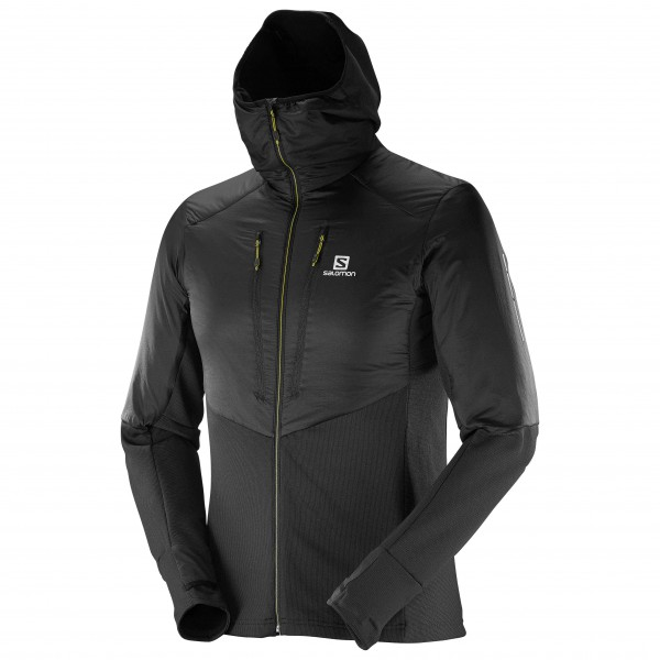 Salomon - Drifter Air Mid Hoodie - Fleecetakki