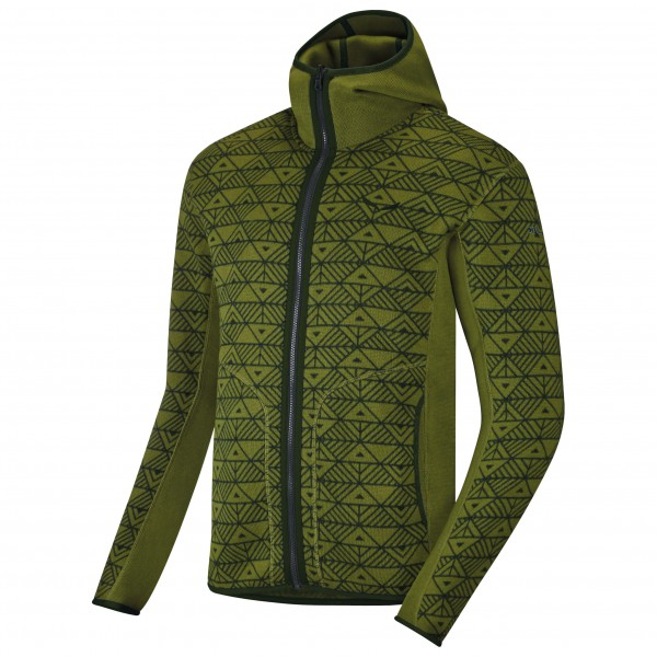 Salewa - Puez Printed PL Full-Zip Hoody - Fleece jacket