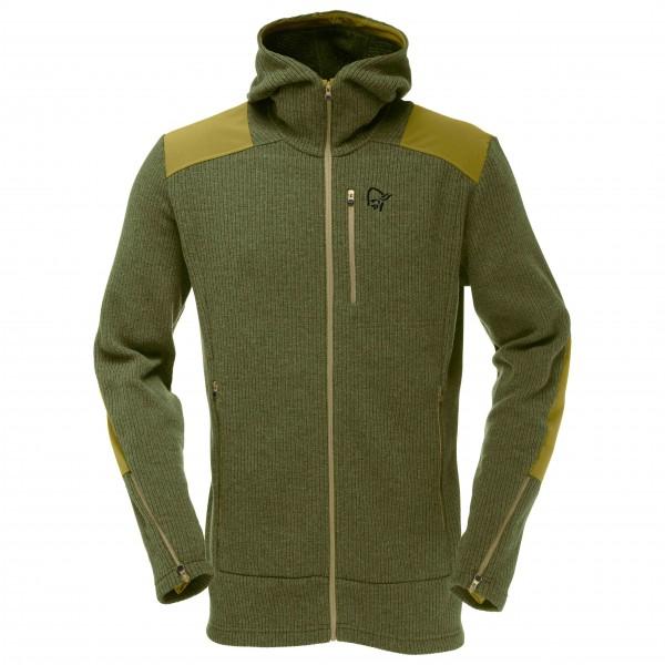 Norrøna - Tamok Warm/Wool2 Zip Hood - Veste en laine