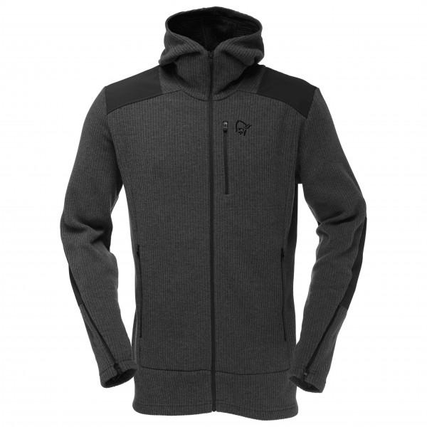 Norrøna - Tamok Warm/Wool2 Zip Hood - Chaqueta de lana