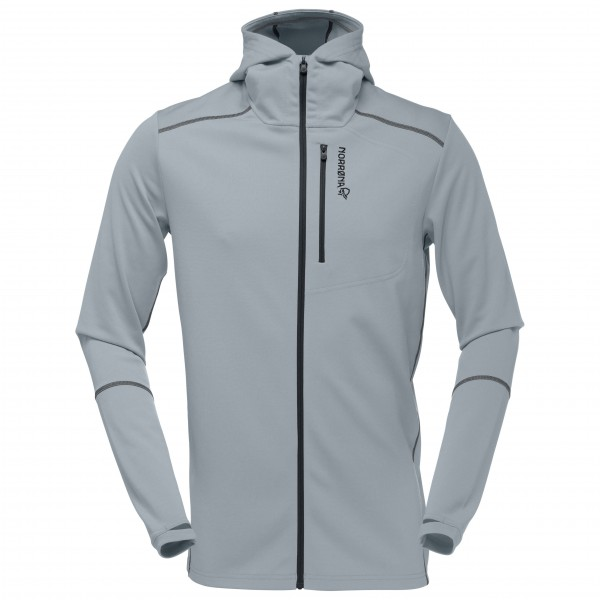 Norrøna - Trollveggen Warm/Wool1 Zip Hoodie - Fleece jacket