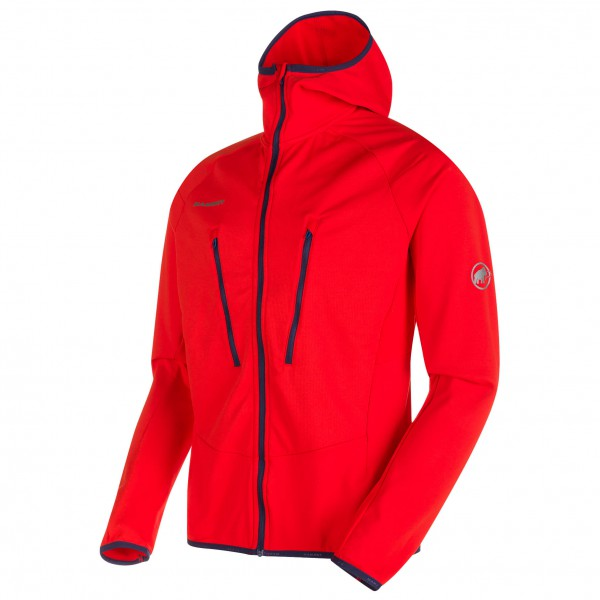 Mammut - Aenergy Light ML Hooded Jacket - Fleecejacke
