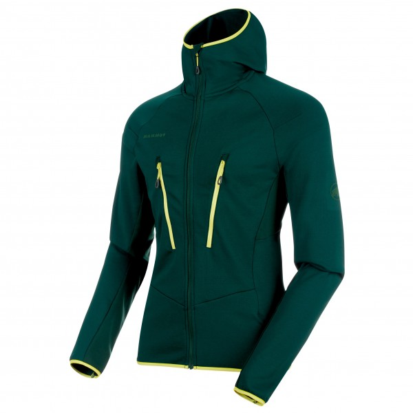 Mammut - Aenergy Light ML Hooded Jacket - Fleecejack