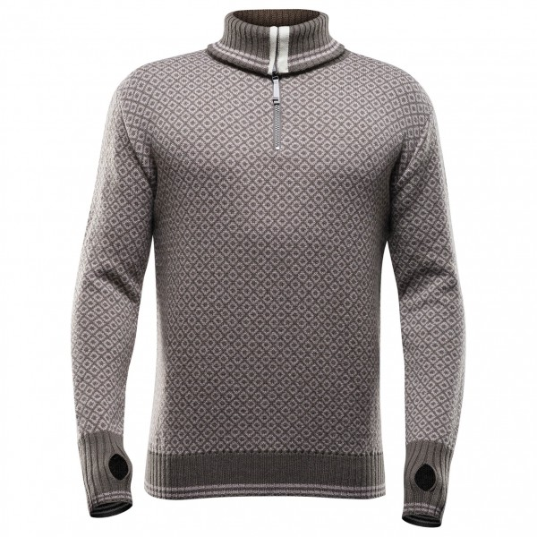 Devold - Slogen Zip Neck - Merino sweater