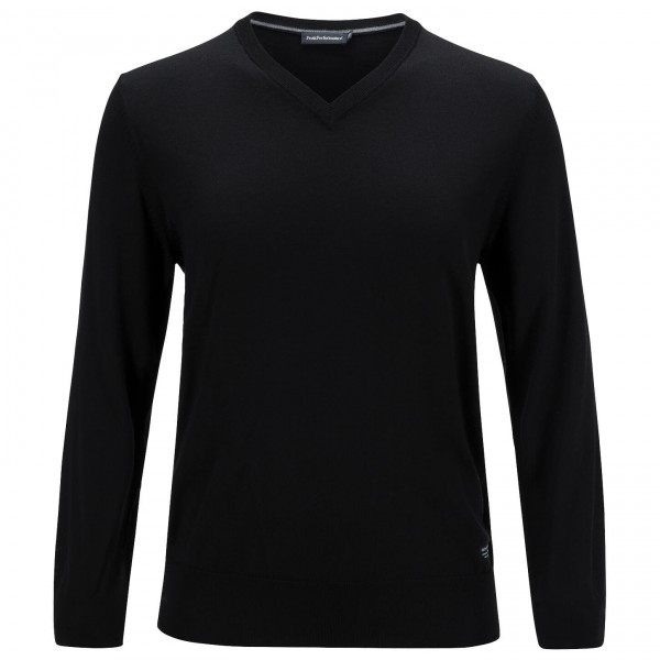 Peak Performance - Merino V-Neck - Pull-over en laine mérino