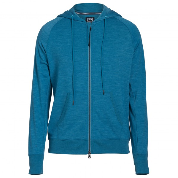 SuperNatural - Tempo Hoody - Pull-over en laine mérinos
