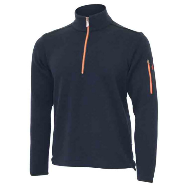 Ivanhoe of Sweden - Assar Half Zip - Merino jumper