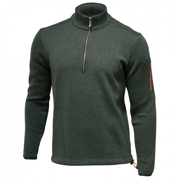 Ivanhoe of Sweden - Assar Half Zip - Merino trui
