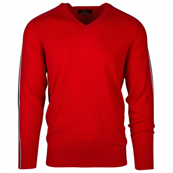 Amundsen Sports - 5Mila V-Neck - Wollpullover
