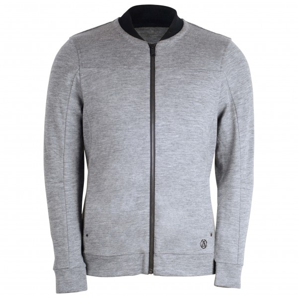 Alchemy Equipment - Merino Zip Cardigan 390GSM - Wollen jack