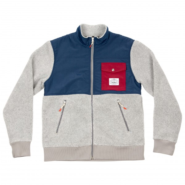 Poler - Half Fleece Jacket - Fleece jacket