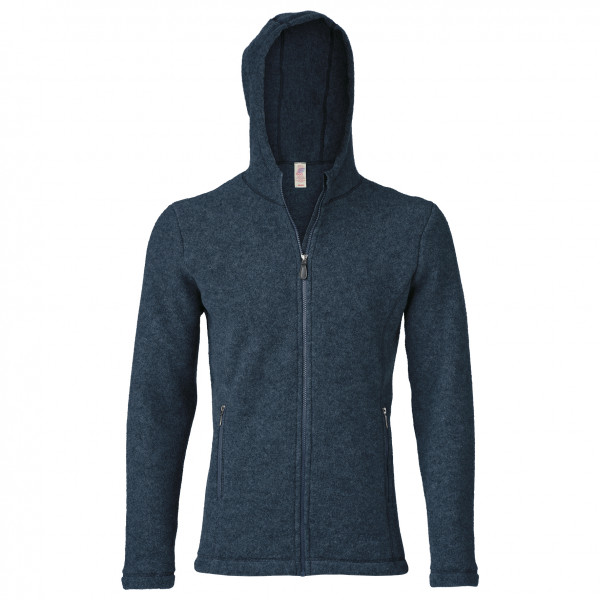 Jacke mit Kapuze - Wool jacket