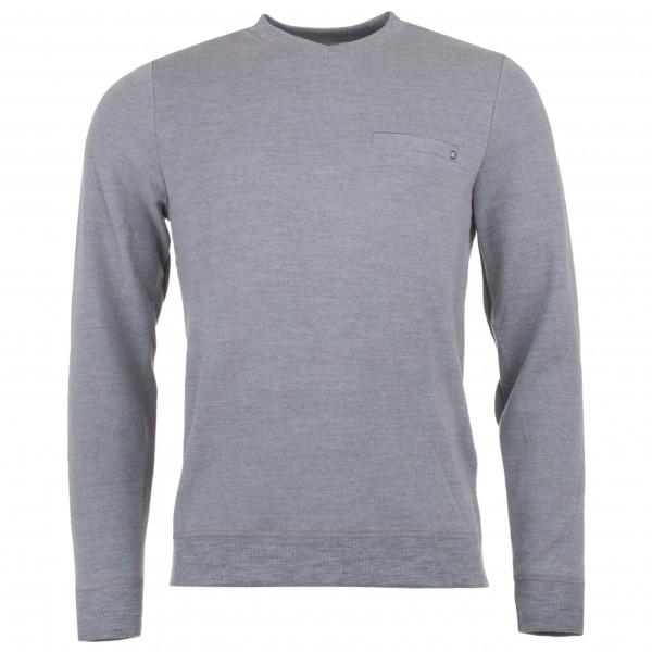 We Norwegians - Base Two V-Neck Sweater - Merinopullover