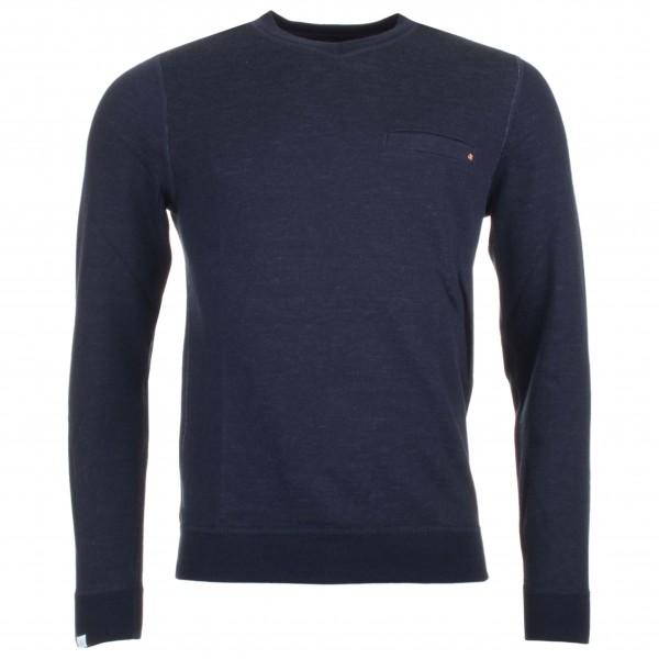 We Norwegians - Basetwo V-Neck Sweater - Överdragströjor merinoull