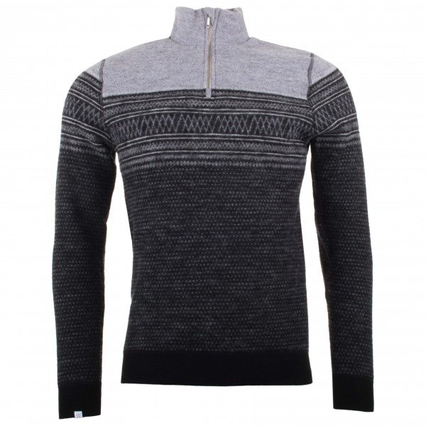 We Norwegians - Frost 1/2 Zip - Merino sweater