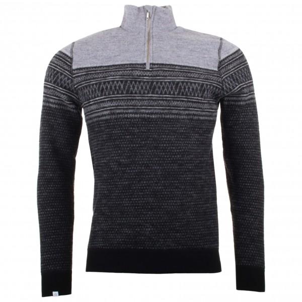 We Norwegians - Frost 1/2 Zip - Merino sweater
