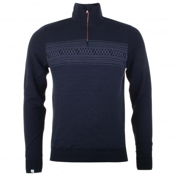 We Norwegians - Setesdal 1/2-Zip - Pull-over en laine mérino