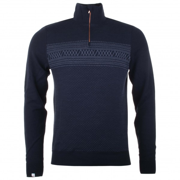 We Norwegians - Setesdal 1/2-Zip - Pull-over en laine mérino
