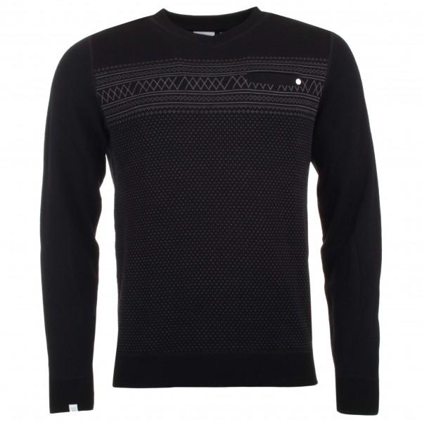 We Norwegians - Setesdal V-Neck Sweater - Merino jumpers