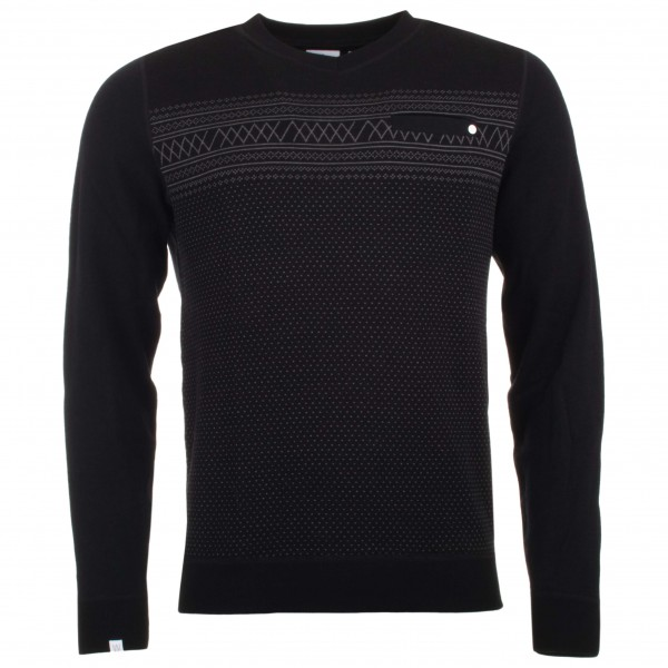 We Norwegians - Setesdal V-Neck Sweater - Merino sweater