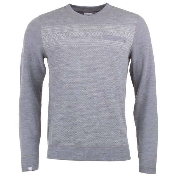 We Norwegians - Setesdal V-Neck Sweater - Merino jumper