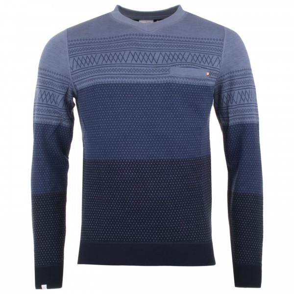 We Norwegians - Skumring V- Necks - Merino trui