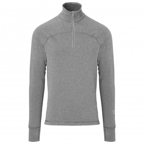 66 North - Grímur Powerwool Zip Neck - Merino trui