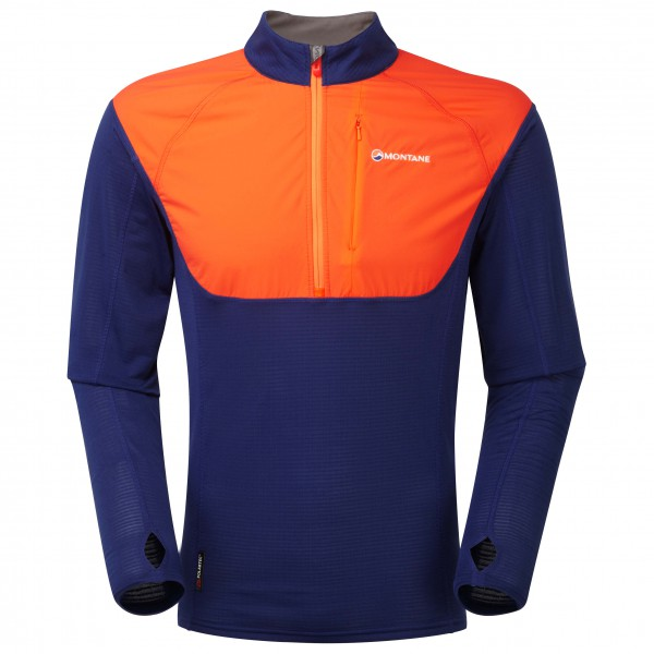 Montane - Barrier Micro Pull-On - Fleecepulloverit
