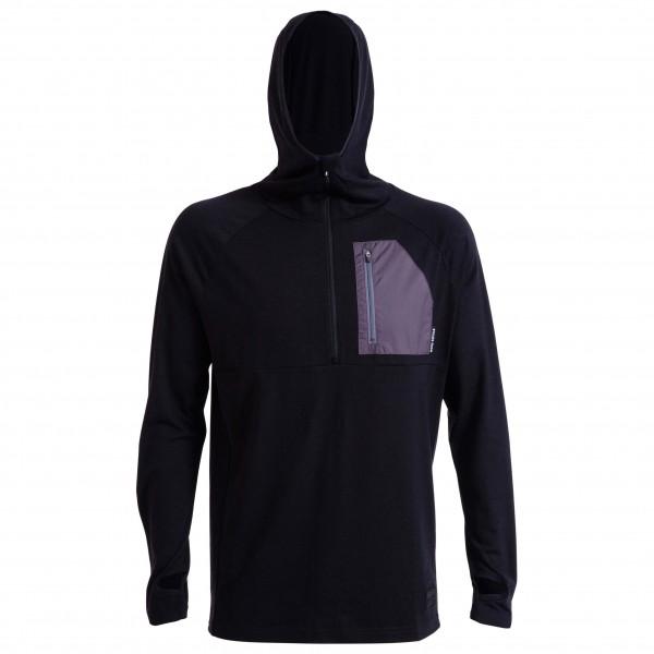 Mons Royale - Motatapu Half Zip Hood - Merino jumpers