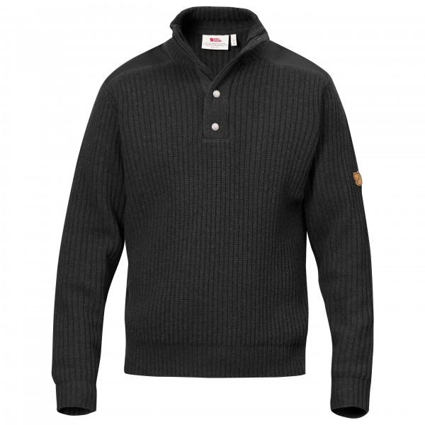 Fjällräven - Värmland T-Neck Sweater - Merinovillapulloverit