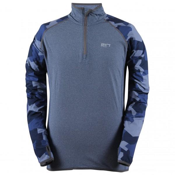 2117 of Sweden - Eco 2nd Layer 1/2 Zip Top Gran - Fleecesweatere