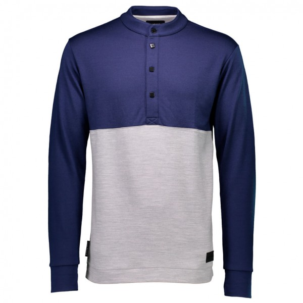 Mons Royale - The 19th Button Down - Merino sweatere